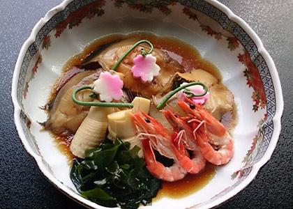 煮魚大皿盛り